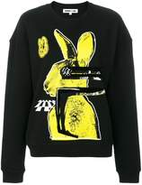 McQ bunny print sweatshirt
