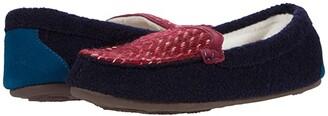 Acorn Andover Driver Moc (Navy/Blue) Women's Shoes