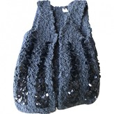 CNC Costume National Anthracite Wool Knitwear for Women