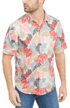 Tommy Bahama Men's Camo Fronds Graphic Shirt