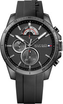 Tommy Hilfiger 1791352 black stainless steel and rubber watch