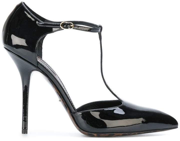 Dolce & Gabbana high heel strap pumps