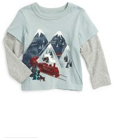 Tea Collection Infant Boy's Hikari Graphic Shirt