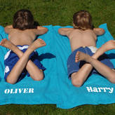 Simply Colors Personalised Child's Bath/Beach Towel