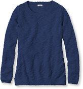 L.L. Bean Textured Cotton Sweater, Pullover