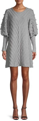 Avantlook Textured Knit Dress