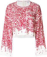 Aviu cropped loose-fitting sweater