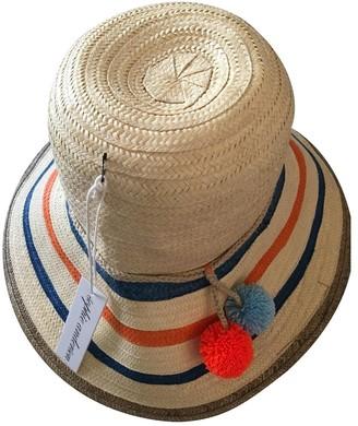 Sophie Anderson Beige Wicker Hats