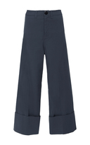 Sea Cropped Cuff Pant