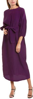 Roseanna Chiffon Silk-Blend Dress