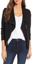 Karen Kane Women's Knit Moto Jacket