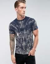 Diesel T-Diego-Qi T-Shirt Snake Print