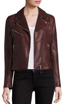 Doma Nappa Leather Moto Jacket