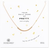 Dogeared 14K Rose Gold Plated Sterling Silver Round Beads Necklace
