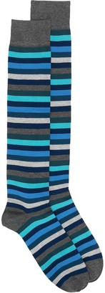 Marcoliani Milano Striped Print Socks