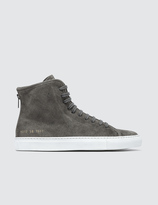 Common Projects Tournament High Waxed Suede