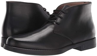 Salvatore Ferragamo Sachie Boot (Black) Men's Shoes