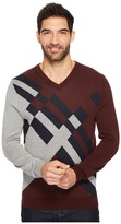 Perry Ellis Modern V-Neck Sweater Men's Sweater