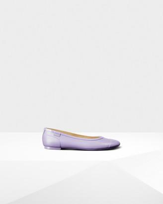Hunter Women's Original Tour Gloss Ballerina Flats
