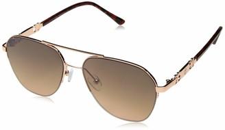 Rocawear Women's R3282 Rgdts Non-Polarized Iridium Aviator Sunglasses