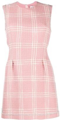 MSGM Check Tweed Dress
