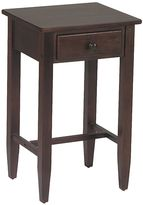 Office star products Home StarTM Products Espresso Telephone Accent Table