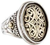 Konstantino Filigree Oval Ring