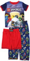Lego Ninjago Boys Navy 3 pc Poly Pajamas Set
