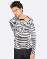 Oxford Hugo Striped Knit Pullover