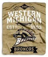 NCAA Western Michigan University Raschel Throw Blanket
