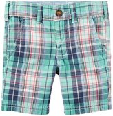 Carter's Woven Shorts (Toddler/Kid) - Plaid-6