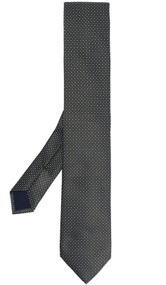 Corneliani Geometric-Print Silk Tie