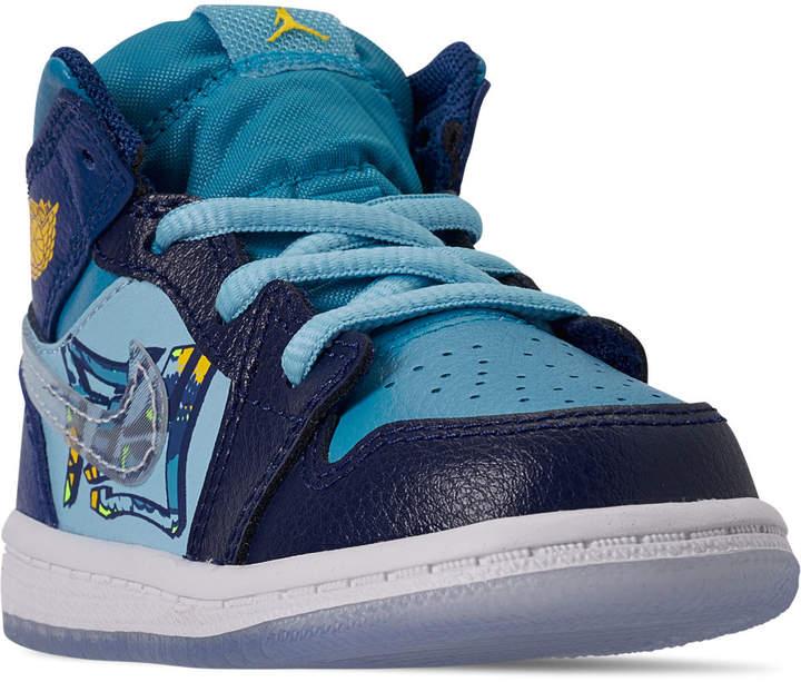 promo code 907ed 5a3eb Boys' Toddler Air Jordan 1 Mid Fly Casual Shoes