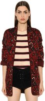 Etoile Isabel Marant Quilted Printed Brushed Cotton Jacket