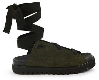 Plan C Lace-up sandals