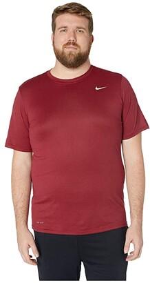 Nike Big Tall Legend 2.0 Short Sleeve Tee (Indigo Fog/Light Armory Blue/Black) Men's T Shirt