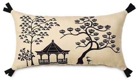 Hanami Pagoda Accent Pillow