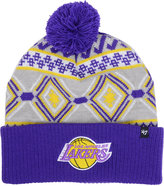 '47 Los Angeles Lakers Hardwood Classic Up North Knit Hat