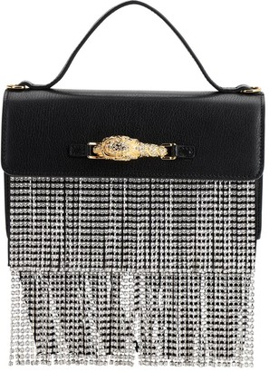 Gucci Leather & Crystal Top Handle Bag