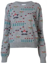 Barrie cashmere 'Star Games' jumper