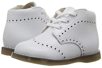 FootMates Cole (Infant/Toddler) (White) Kid's Shoes