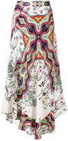 Etro patterned maxi skirt - women - Silk - 40