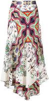Etro patterned maxi skirt - women - Silk - 42