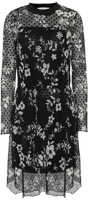 See by Chloe Floral--printed lace dress