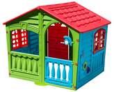 PalPlay House of Fun Playhouse - Green/Red/Blue