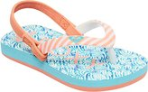 Roxy Kids' TW Pebbles VI Flip Flop Sandals Flat