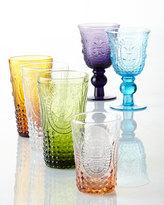 Horchow Amethyst Renaissance Goblets, Set of 4