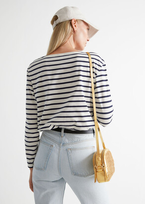 And other stories Breton Stripe Top