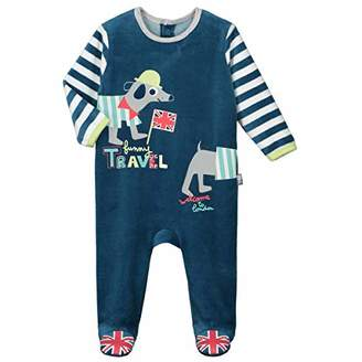 Camilla And Marc London Funny Baby Velour Pyjamas Size 3 Months (62 cm)