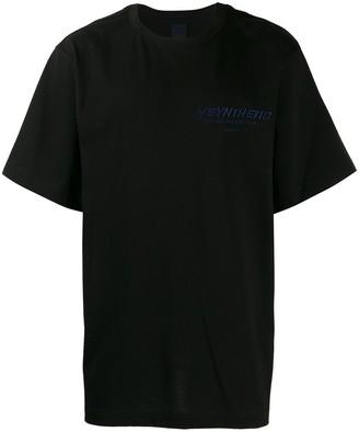 Juun.J boxy graphic print T-shirt